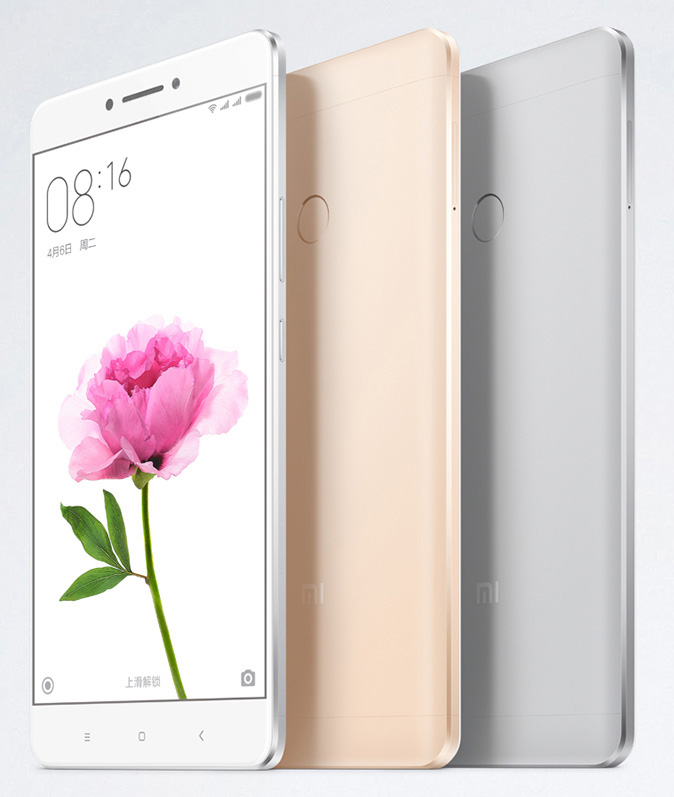 The Mi Max features a massive 6.44-inch display and a 4,850mAh battery