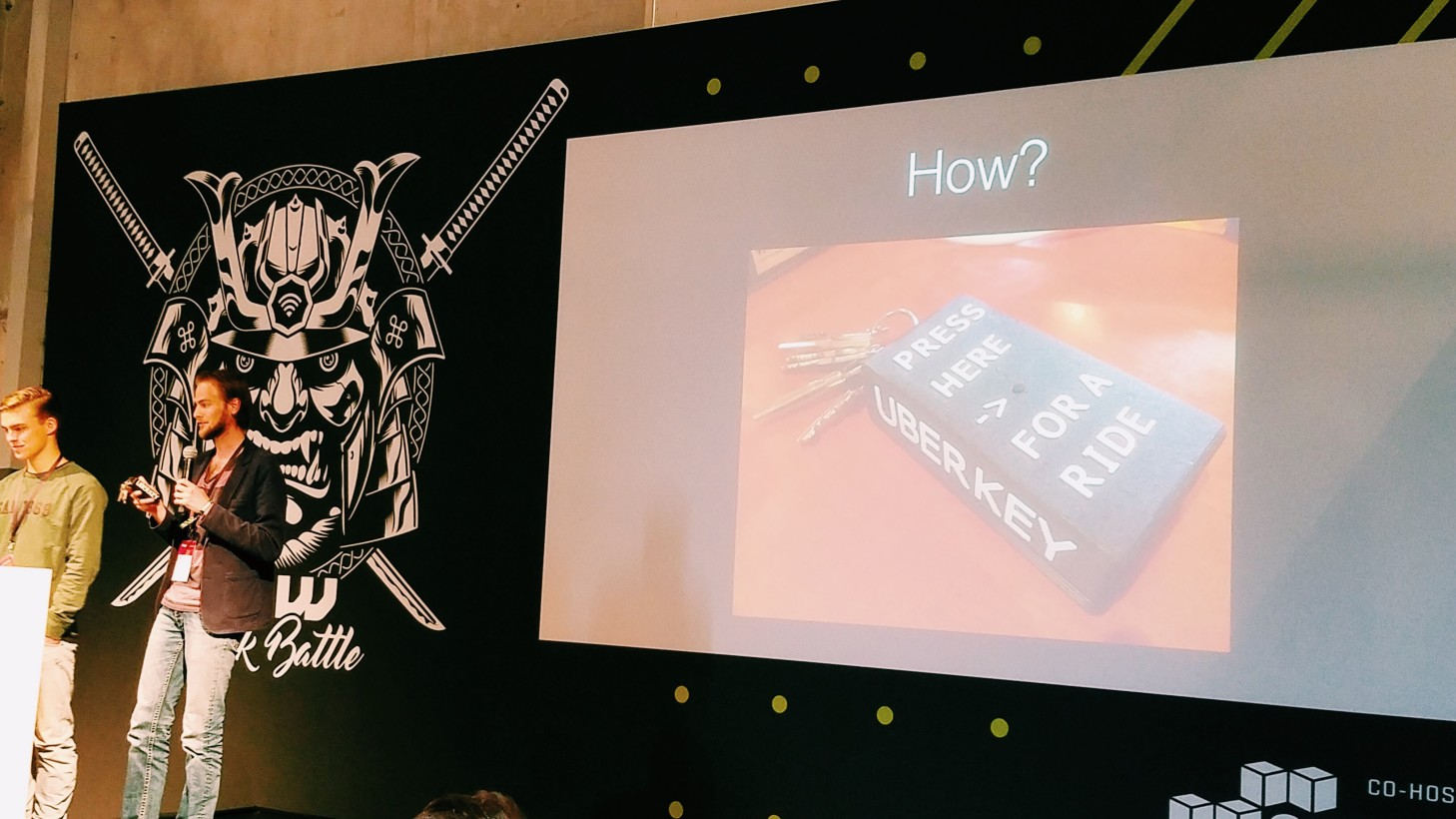 10 brilliant iot hacks from tnw europe 2016 hack battle using uber and aws lora technology never worry if your phone is dead or your drunken fingers just can t seem to find that dang uber app