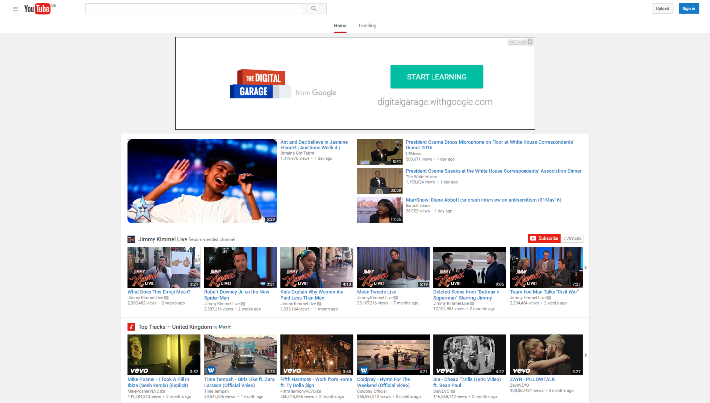 Youtube is getting google 39 s material design here 39 s how to enable it now - Google home page design ...
