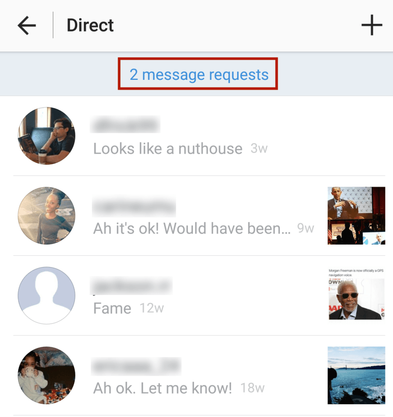 There's an Instagram 'Other' inbox too (here's how to find it)