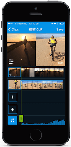 GroupClip makes it easy to capture and edit multi-angle video with friends