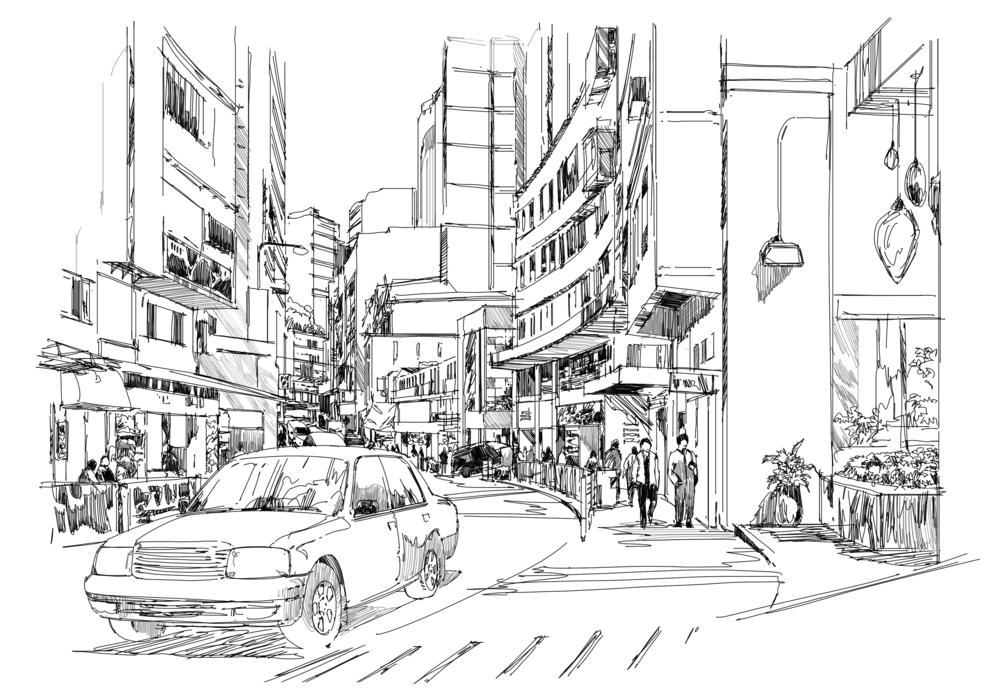 sketch, illustrate