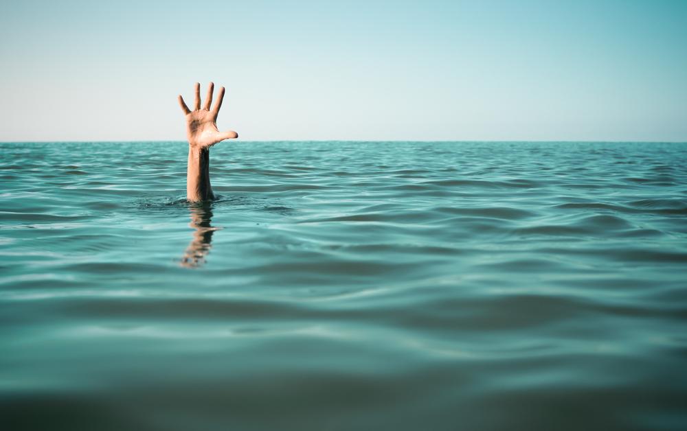 fail, drowning, help