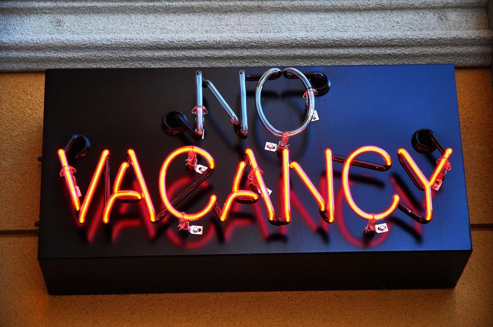 no vacancy, hiring