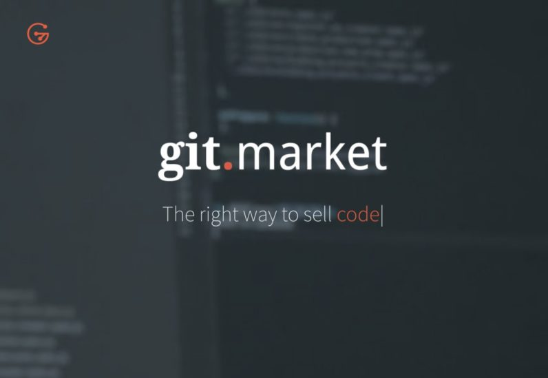 GitMarket is a Git-powered marketplace for buying and selling code