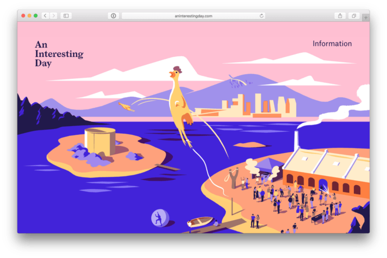 web design An Interesting Day