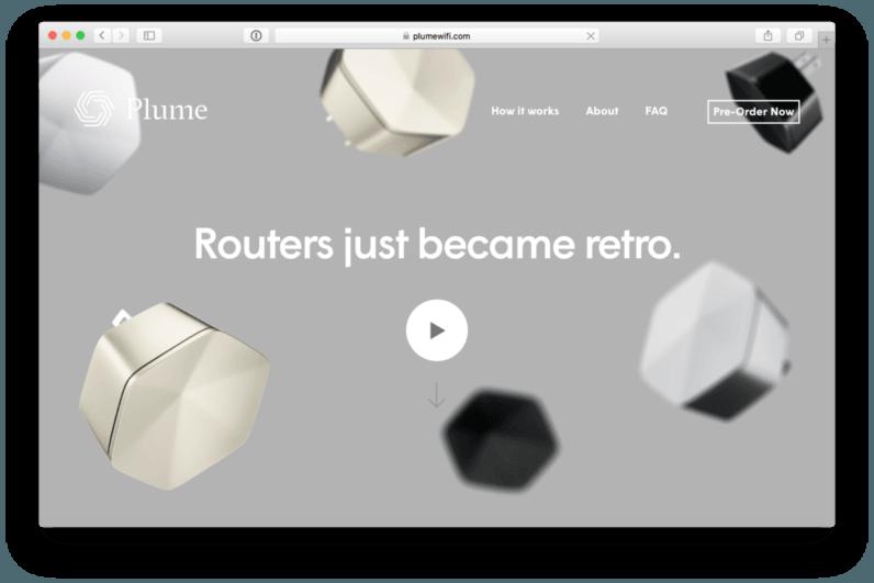 web design Plume Wi-Fi