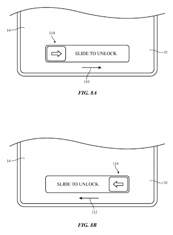 Slide to Unlock Patent