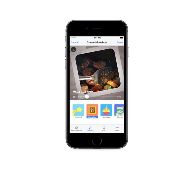 Slideshows Facebook