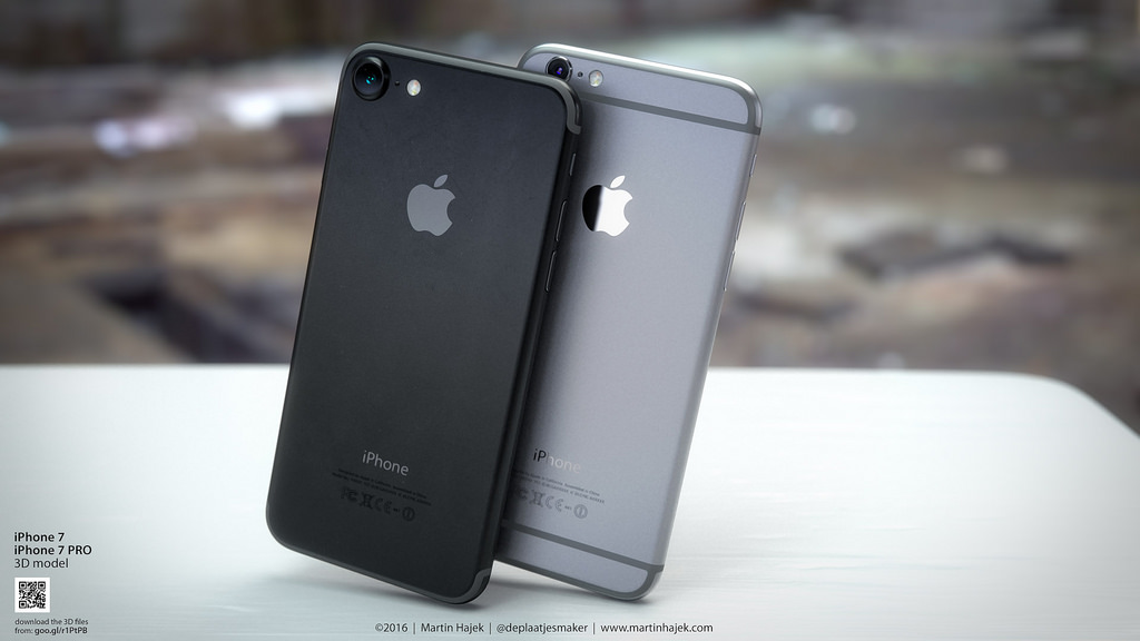 Awesome 'Space Black' iPhone 7 renders make me want one right now