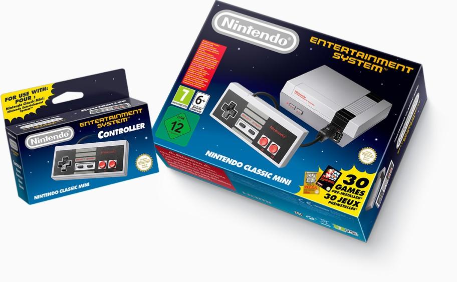 Nintendo NES controller box