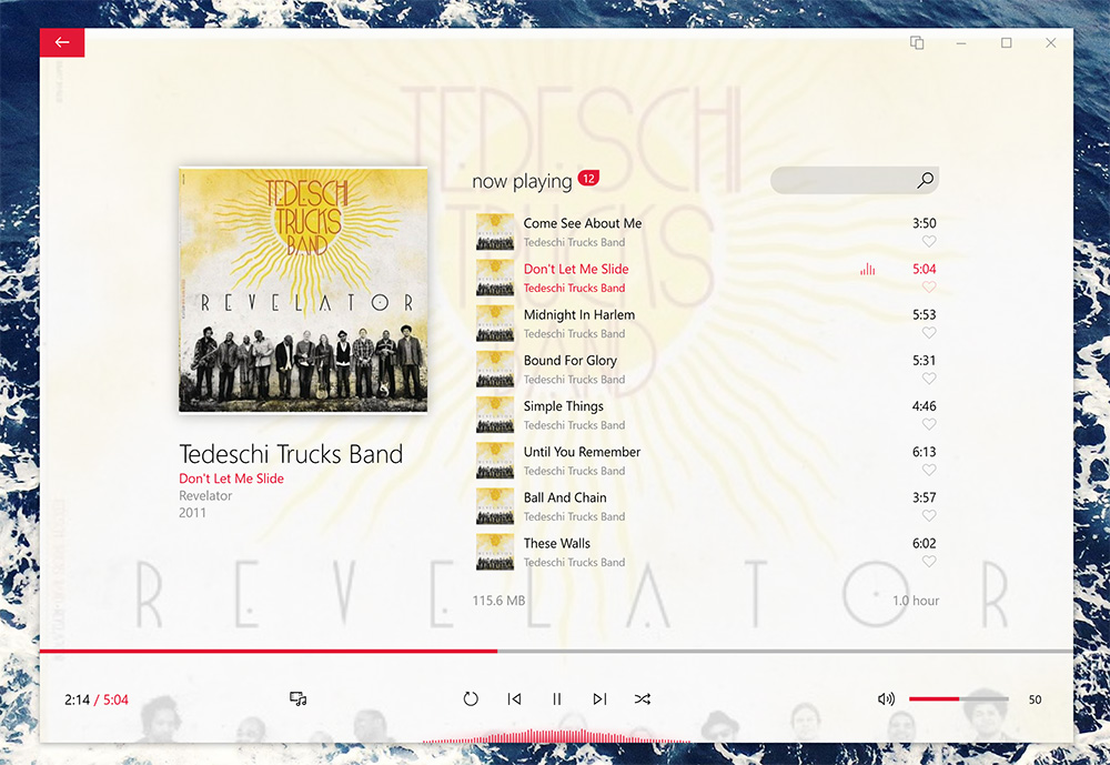 Dopamine for Windows expertly handles your local music library