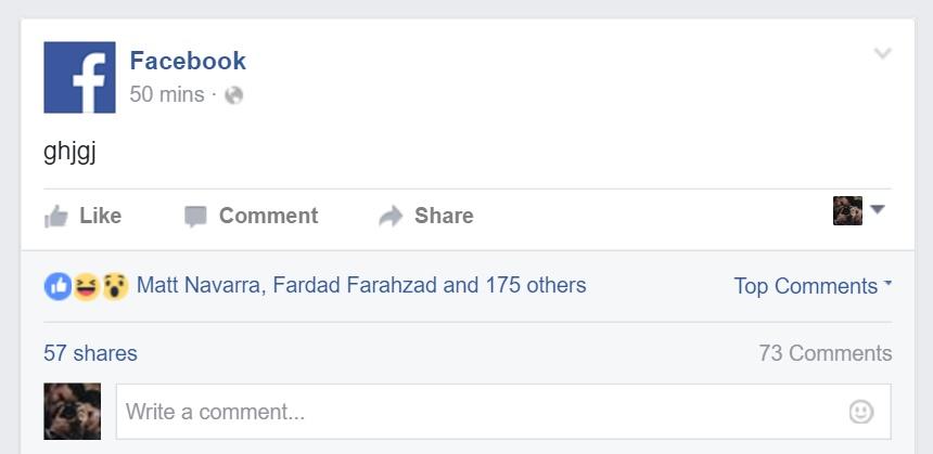 Facebook drunk