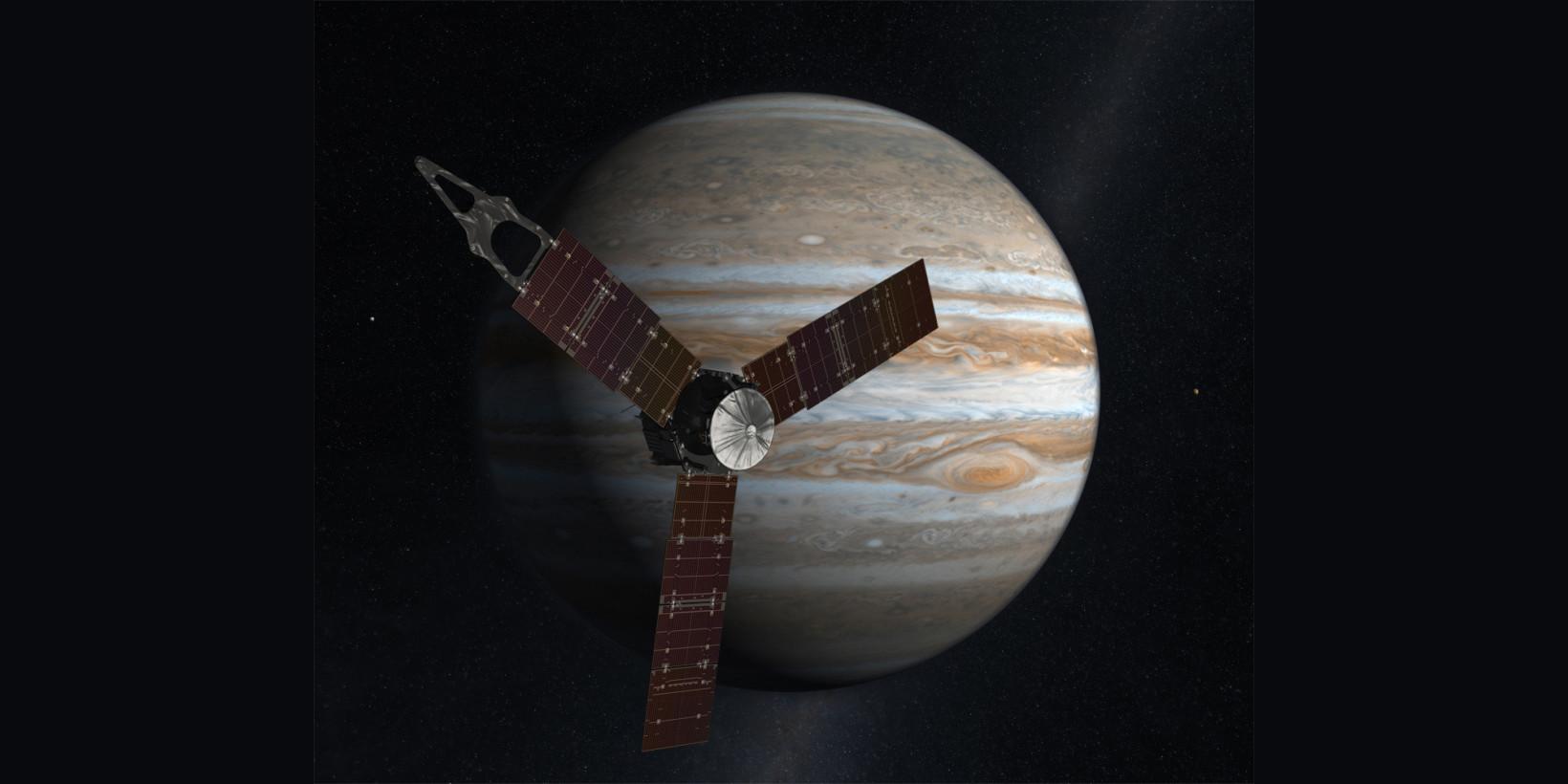 NASA's Juno spaceship is now in Jupiter's orbit