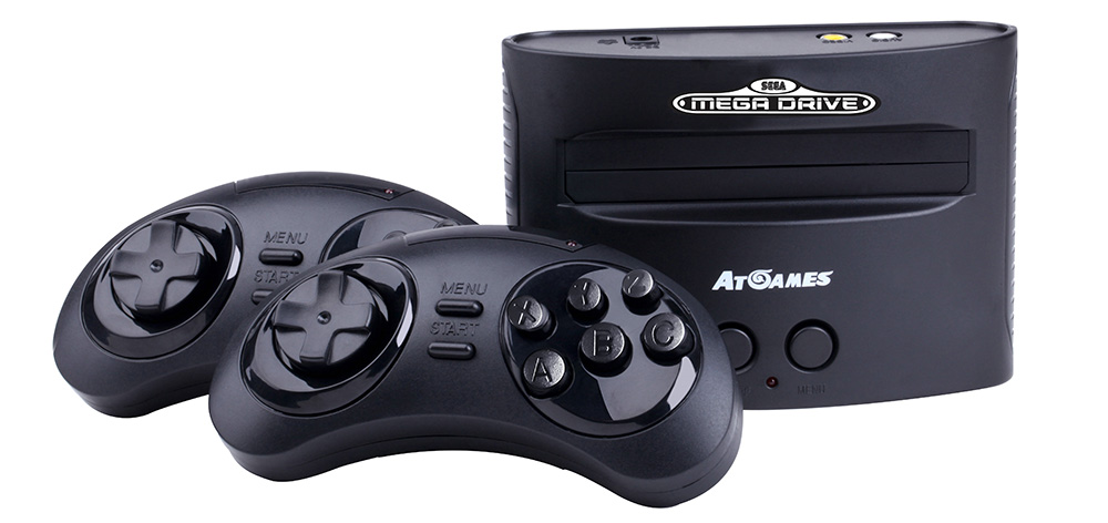 Sega takes on Nintendo with retro Mega Drive consoles