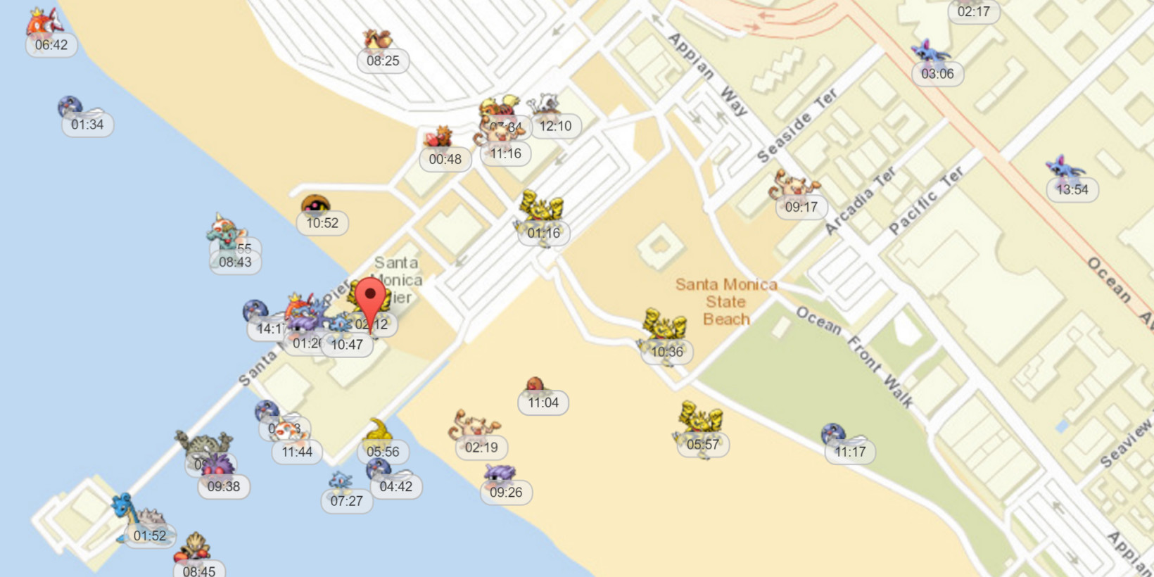 Use This Map To Find Pokmon In Realtime Before You Head