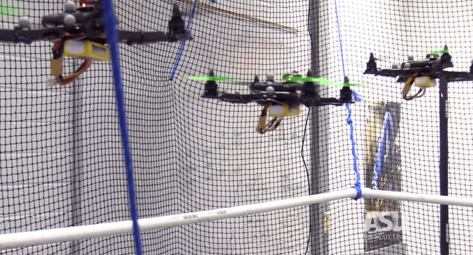 This cutting-edge technology lets you control multiple drones with your mind