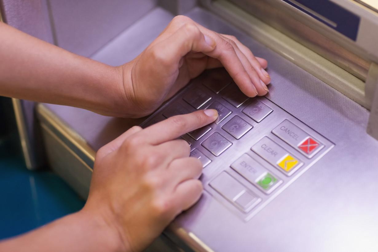 Debit card pin crack