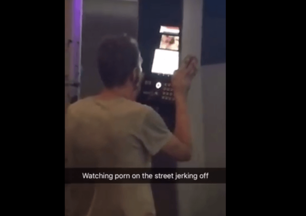 homeless man linknyc porn