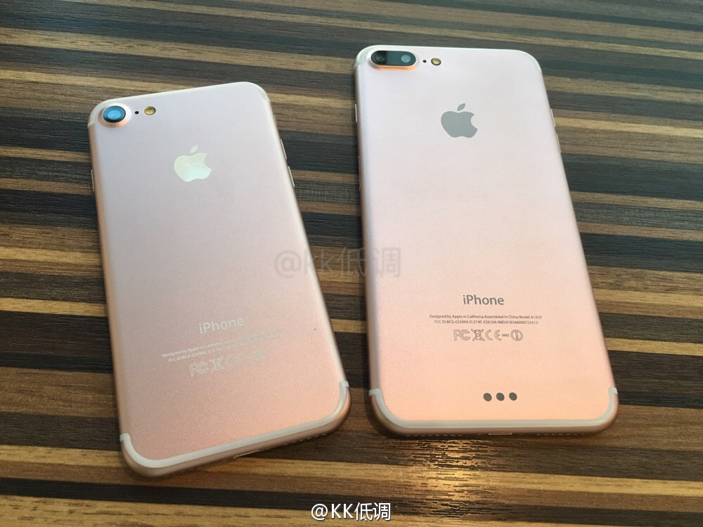 We want the iPhone 7 and 7 Plus dummies shown off in these photos and ...