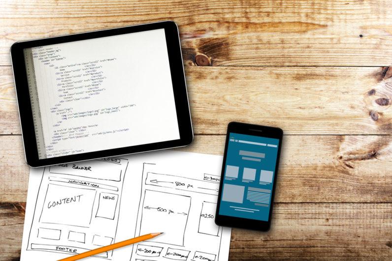 App Design - Magazine cover