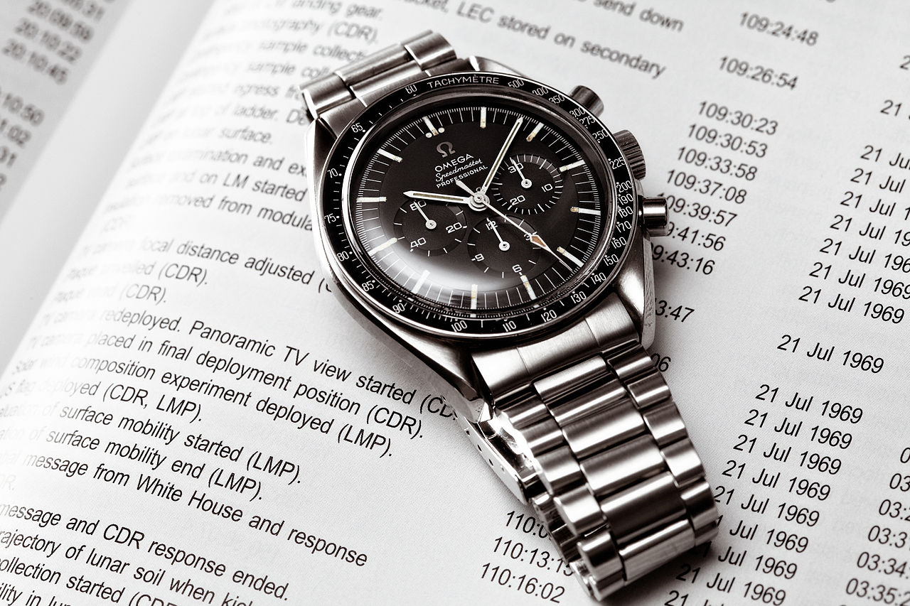 The Omega Speedmaster was the first watch to ever be worn on the moon
