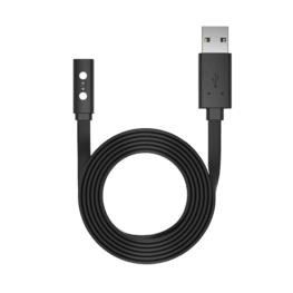 Like most smartwatches, the Pebble range has its own proprietary charger that doesn't work with any other devices