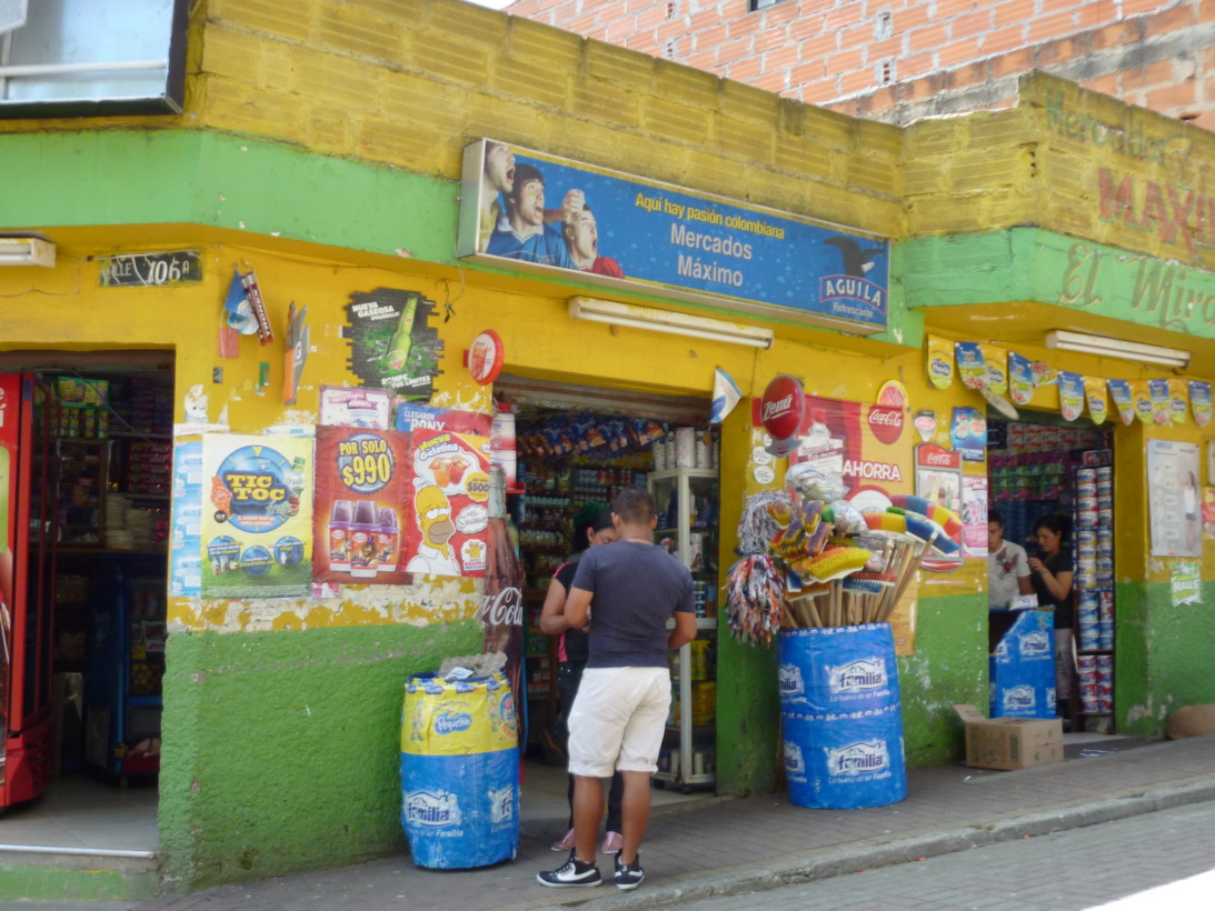 Colombian storefront