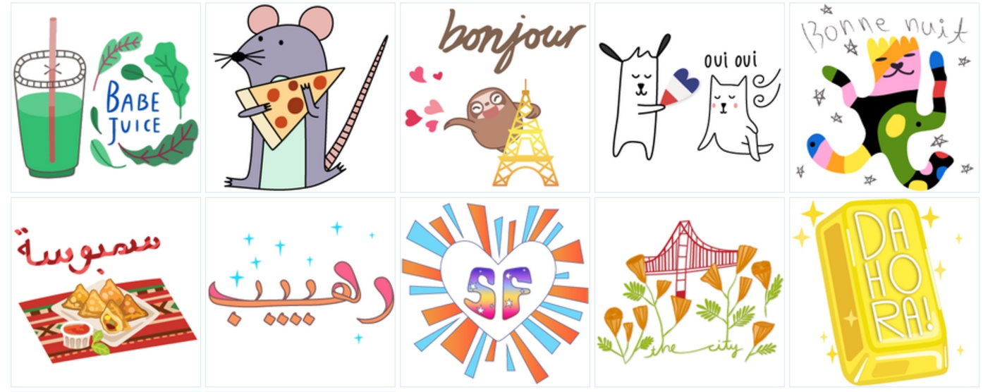 Geostickers Snapchat