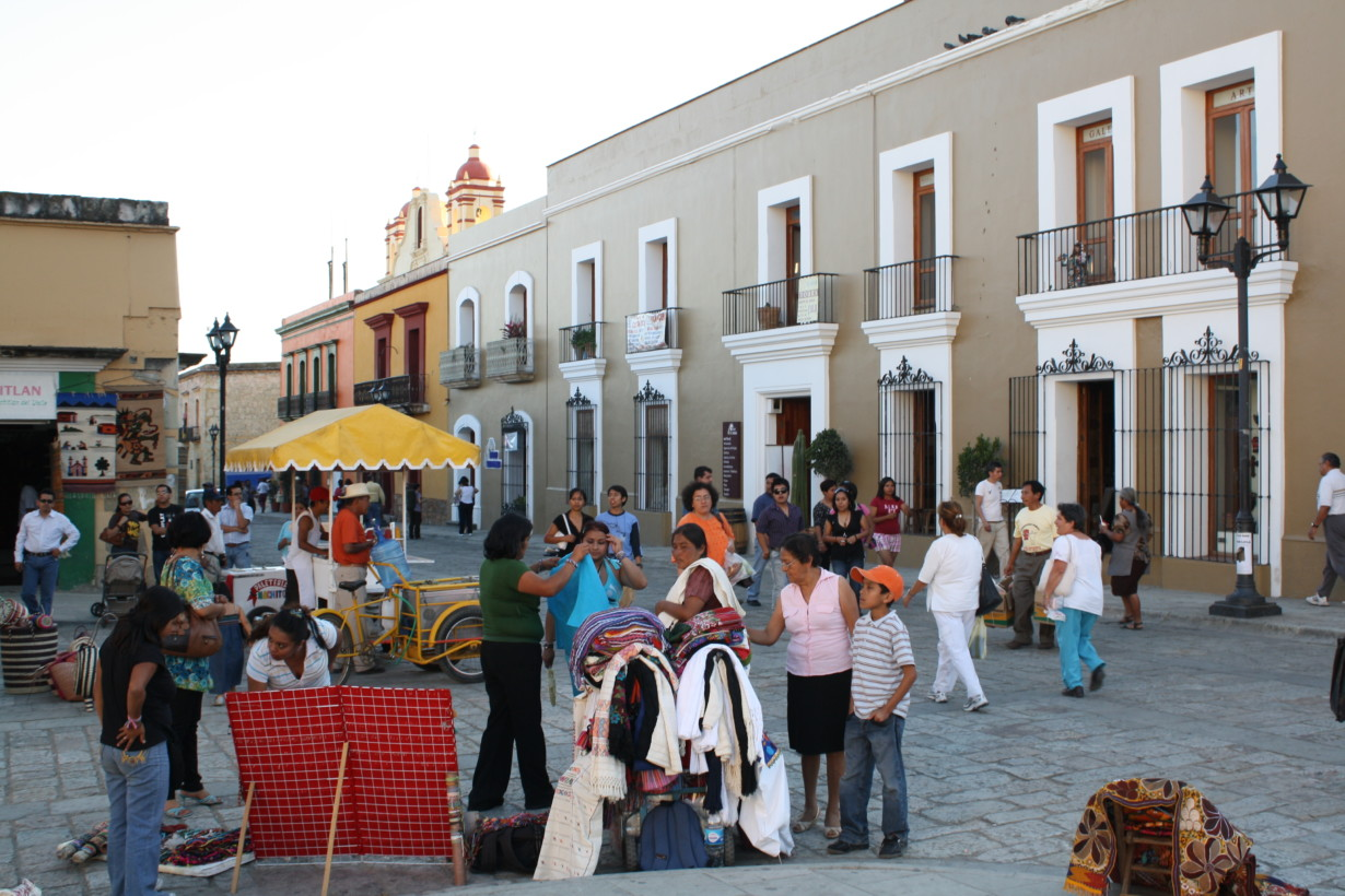 Local street market in Oxaca, Mexico