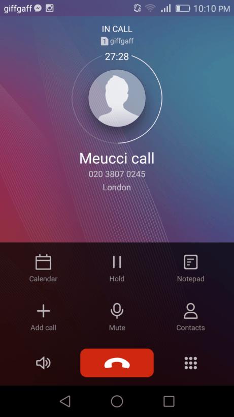 MeucciCall
