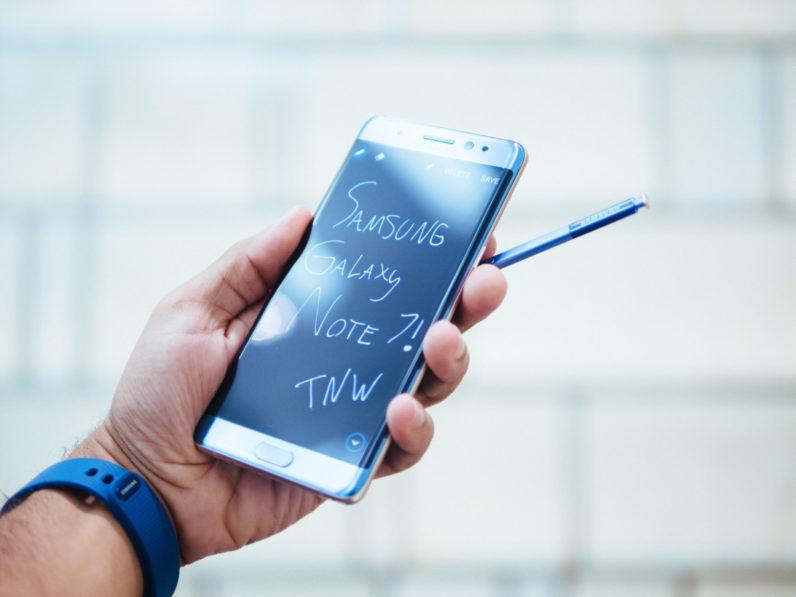 Kết quả hình ảnh cho Samsung Galaxy Note7 hands-on