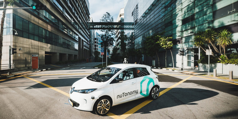 Nutonomy just beat Uber in the race to launch self-driving cabs