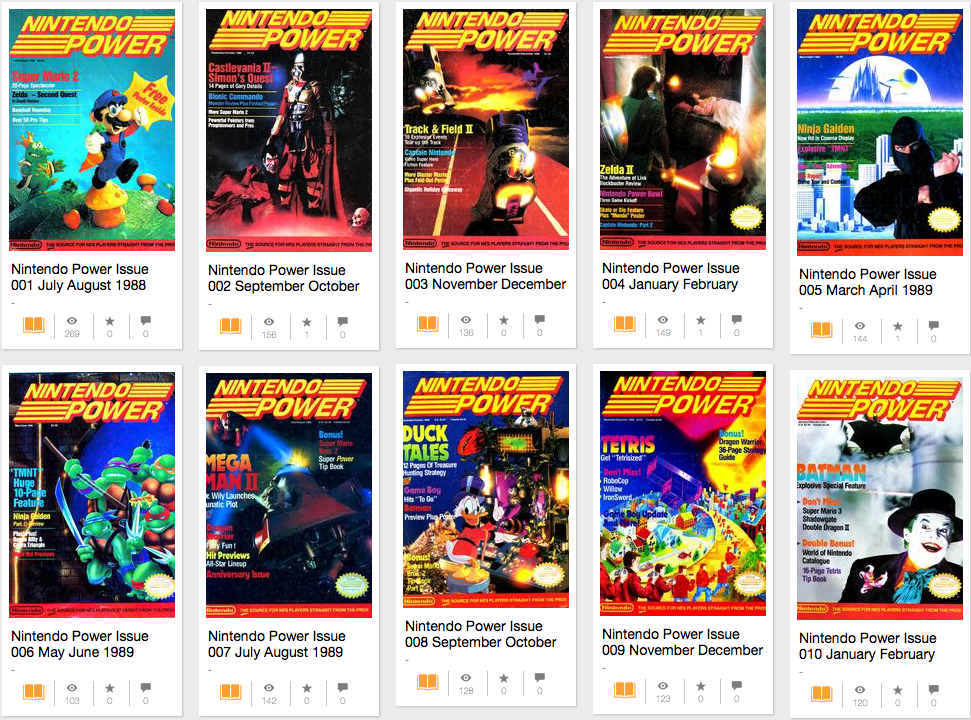 The first 13 years of Nintendo Power are available free online