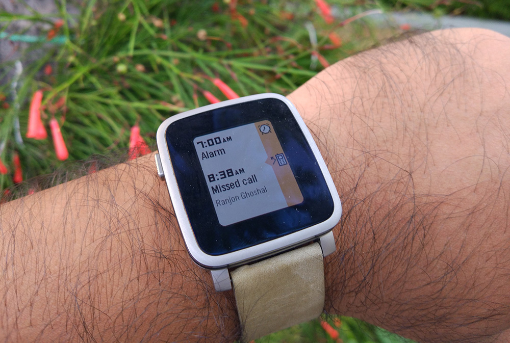 The Pebble Time Steel packs plenty of functionality into a small package that lasts a whole week on a single charge