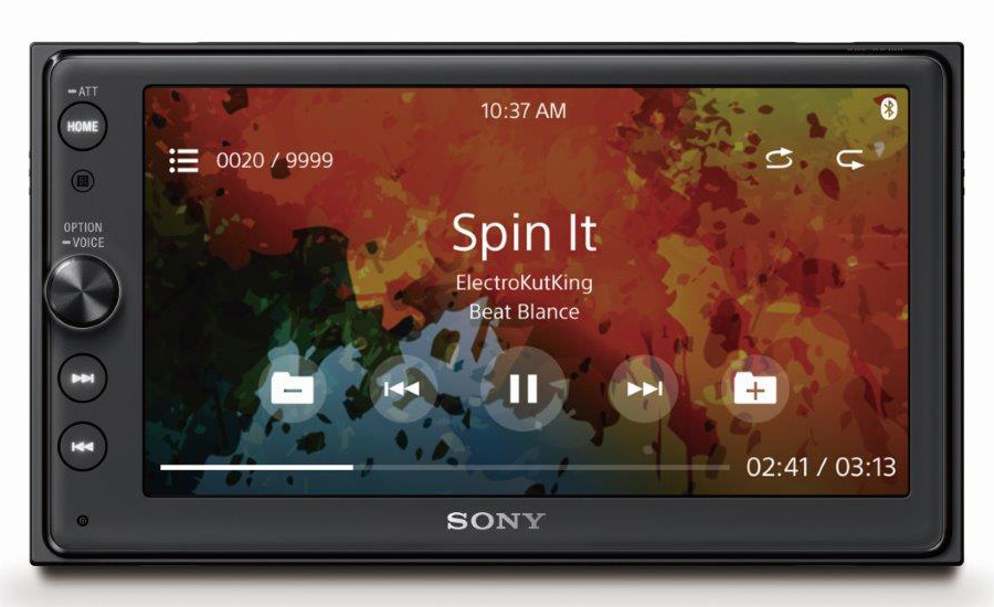 Sony's new in-dash system supports Android Auto and CarPlay