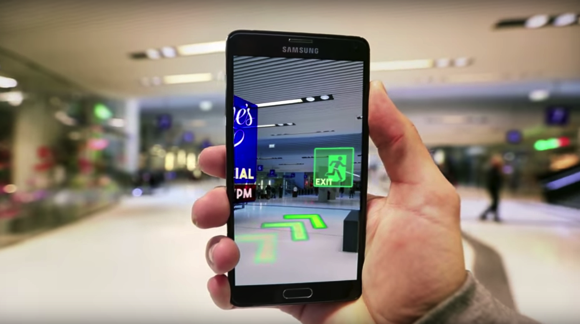 3D tracking for indoor navigation (Source: Wikitude)
