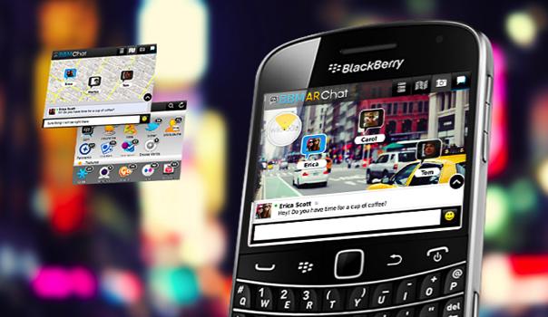 BlackBerry using GEO AR in 2012