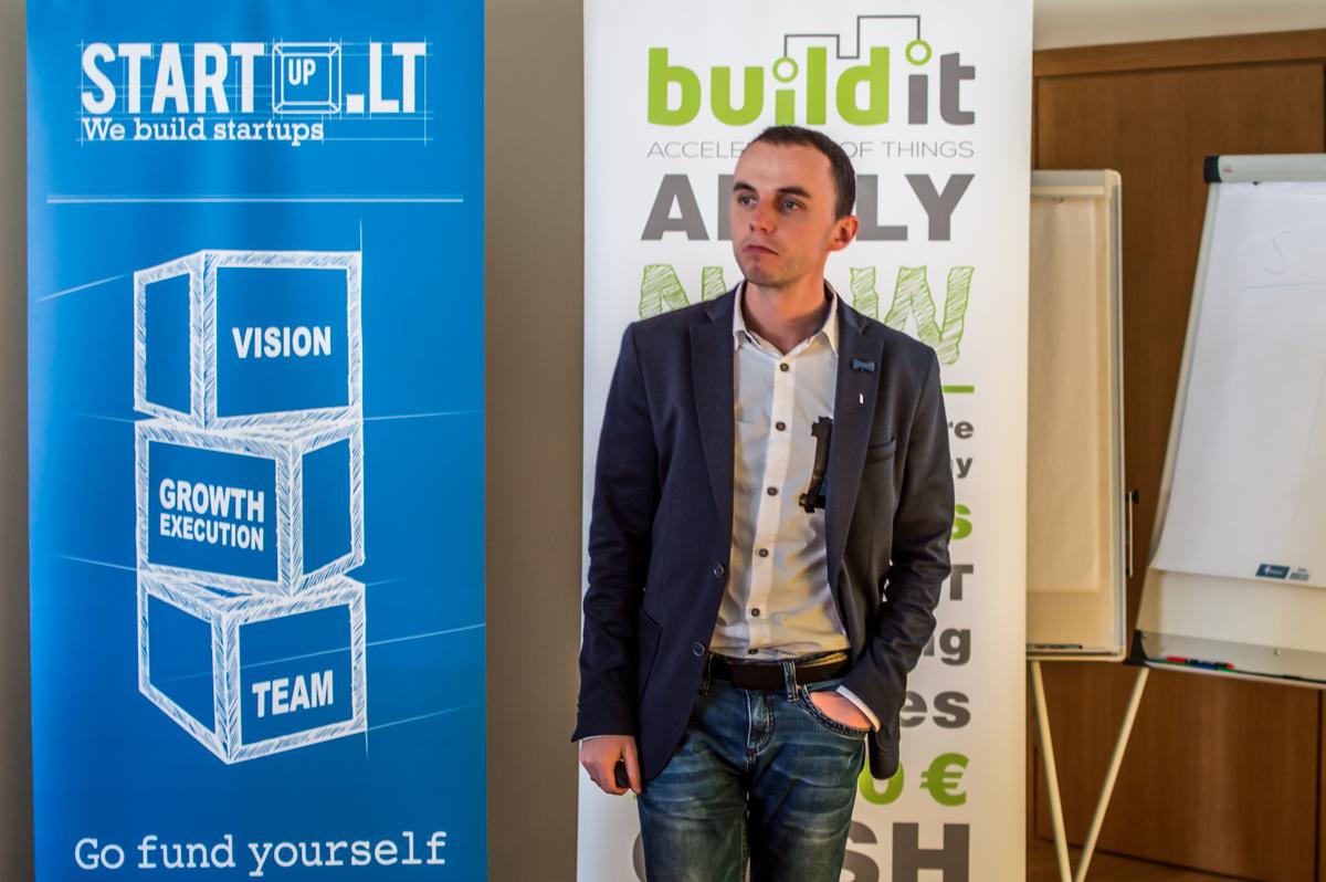 Aleksander Tõnnisson, CEO of Estonia's BuildIt accelerator