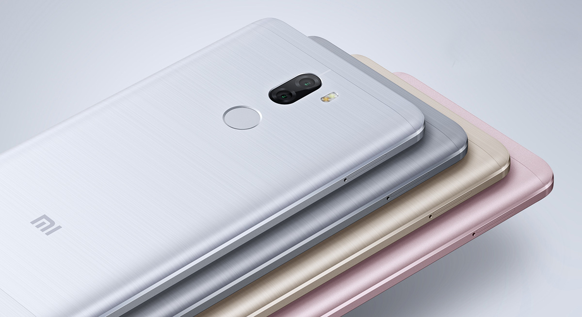 The Mi 5s Plus comes in a range of handsome metallic finishes