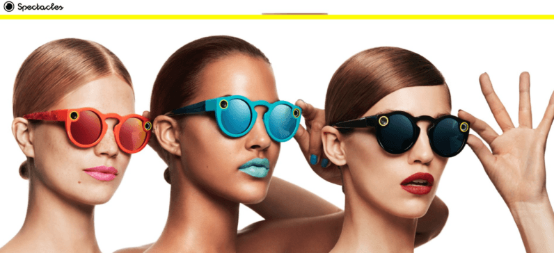 Image result for snap spectacles