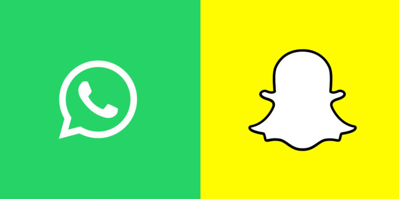 whatsapp straight up copies snapchat s drawings and stickers