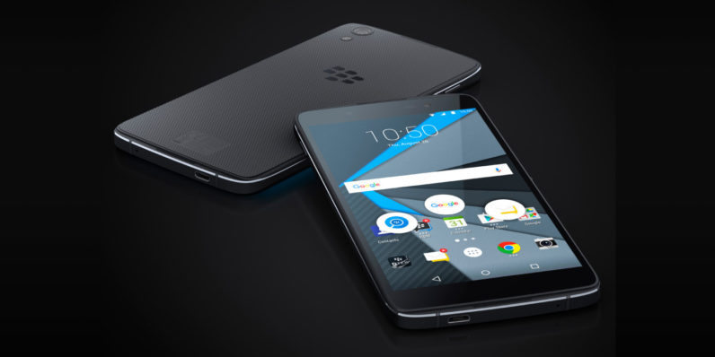 BlackBerry leaks specs on enticing new DTEK60 handset