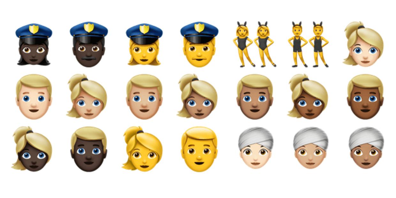 Det er de 72 nye Emoji i Ios 10-7898