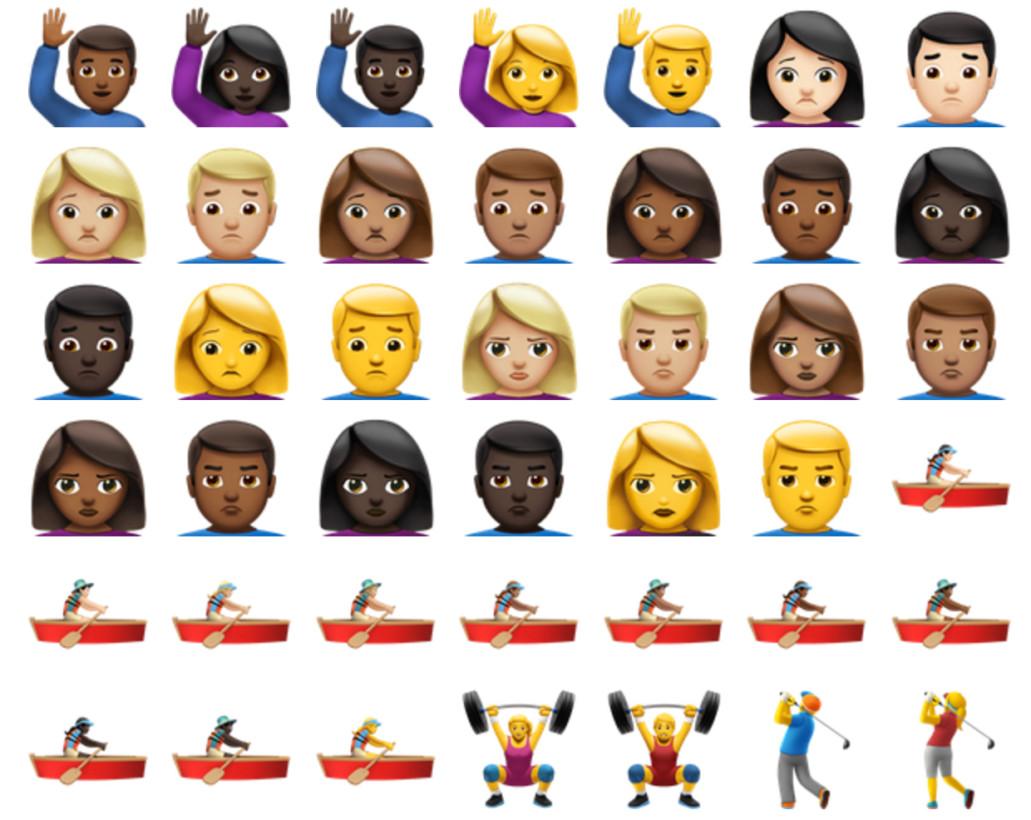 These are the 72 new emoji in ios 10 ios emoji7 buycottarizona Choice Image
