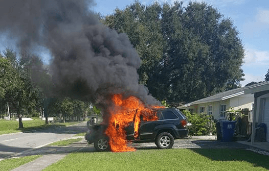 Man claims his Galaxy Note 7 blew up and set his car on fire
