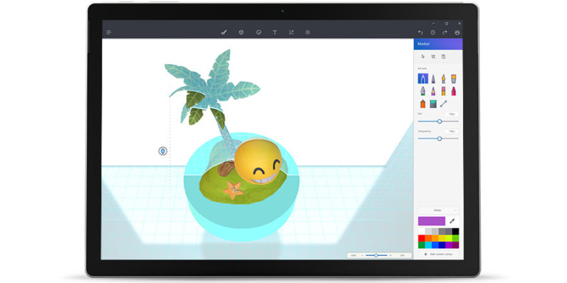 microsoft paint gets a massive update with new tools for