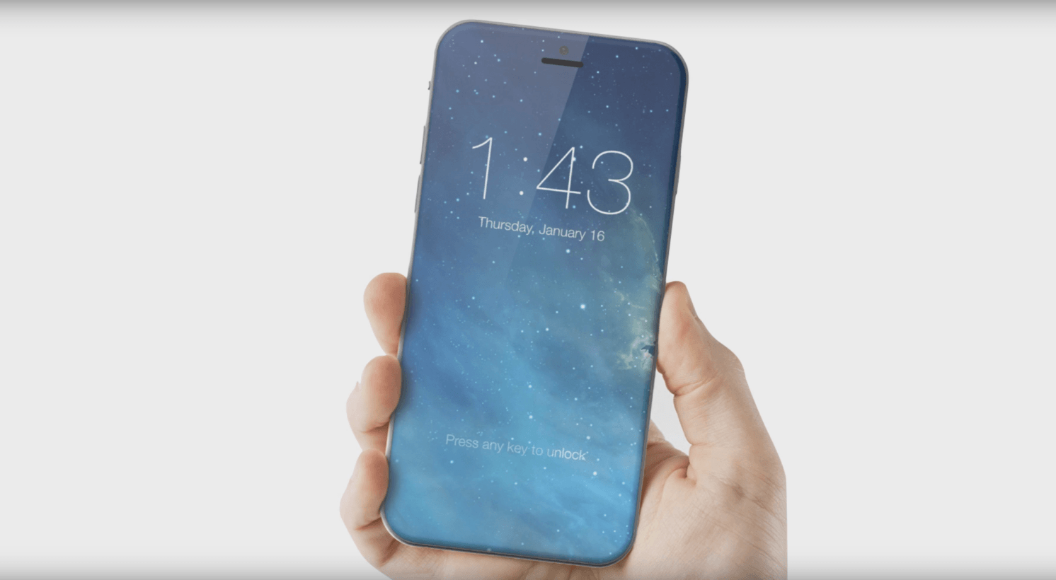 Edge-to-edge iPhone concept by ConceptsiPhone.