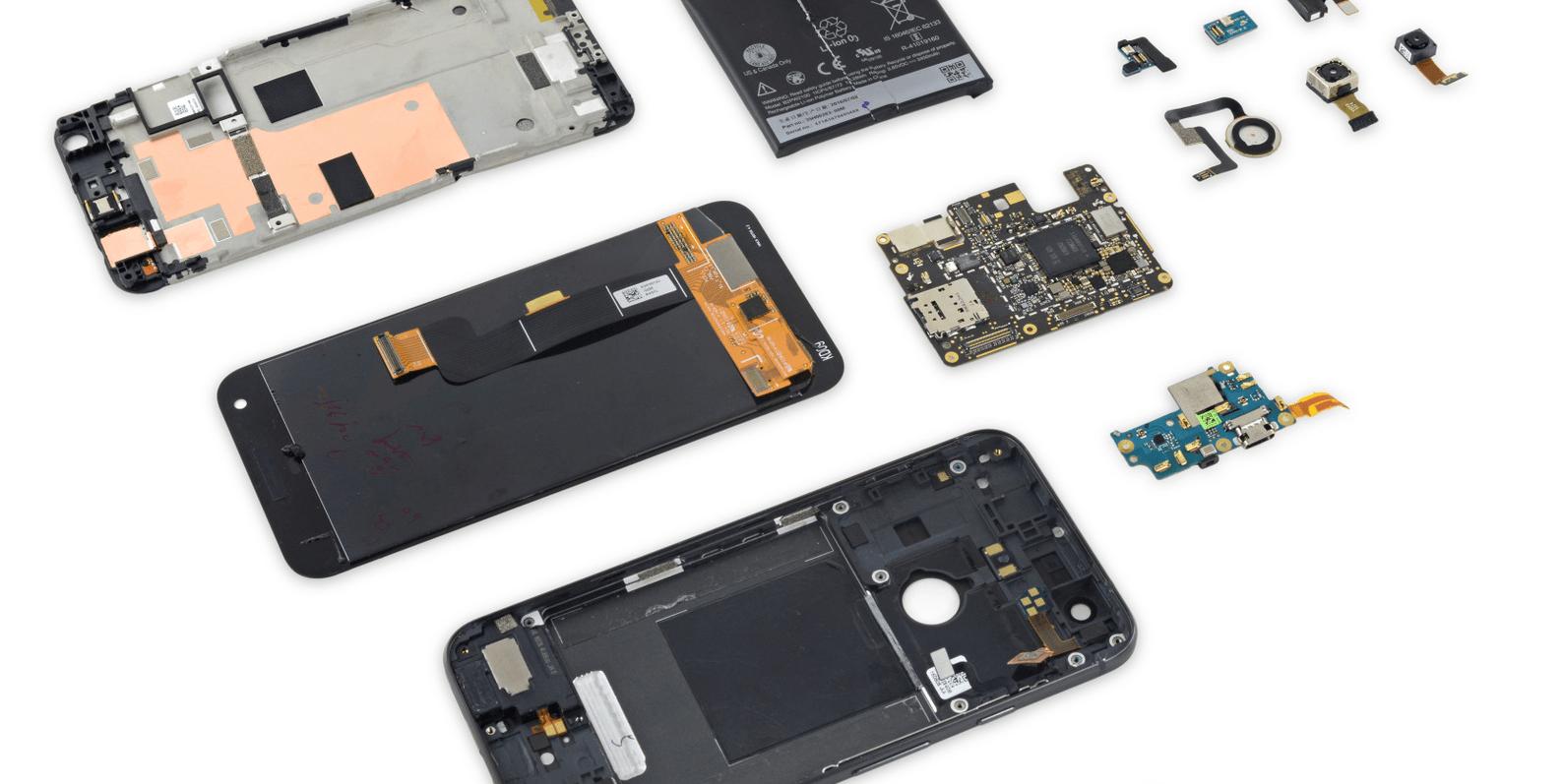 Google Pixel teardown reveals fixing an iPhone 7 might be ...