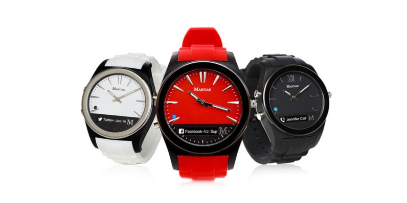 Meet the Martian Notifier: A stylish smartwatch that's easy on your wallet (76% off)